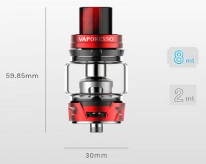 Vaporesso Skrr Tank Specs and features